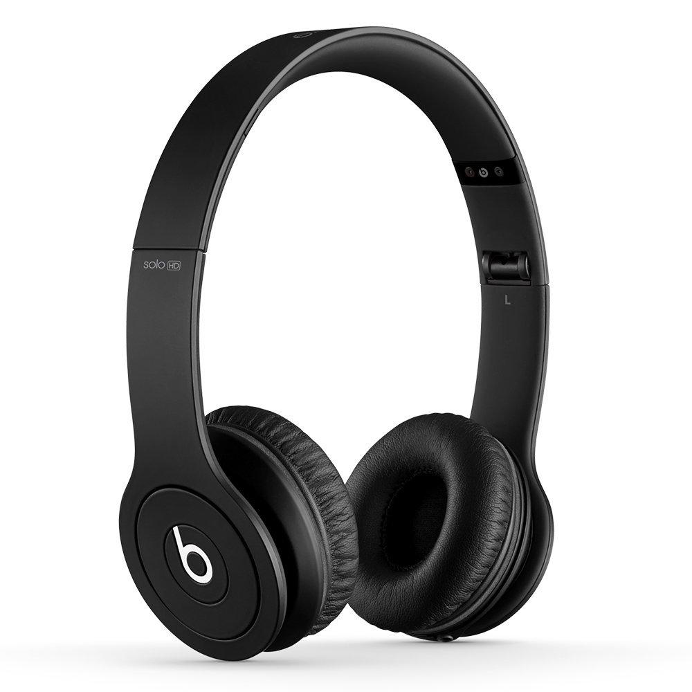 BEATS SOLO HD HEADPHONES BLACK