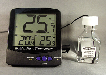BLOCK HEATER THERMOMETER MIN/ MAX/CURRENT DISPLAY -50-70C
